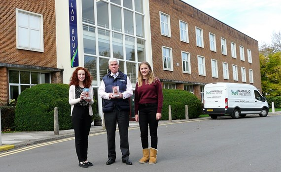 Johnsey Estates helps young Gwent entrepreneurs grow their businesses